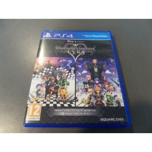 PS4 Playstation 4 Game: Kingdom Hearts HD 1.5 + 2.5 ReMIX
