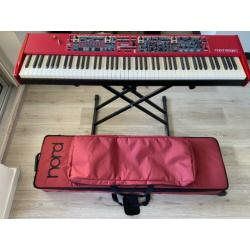 Nord Stage 2 HA88 inclusief Nord softcase 88 en Dust case